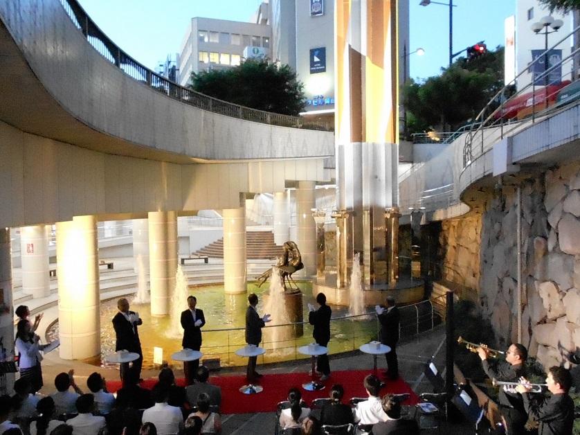 開幕50日前記念イベント開催