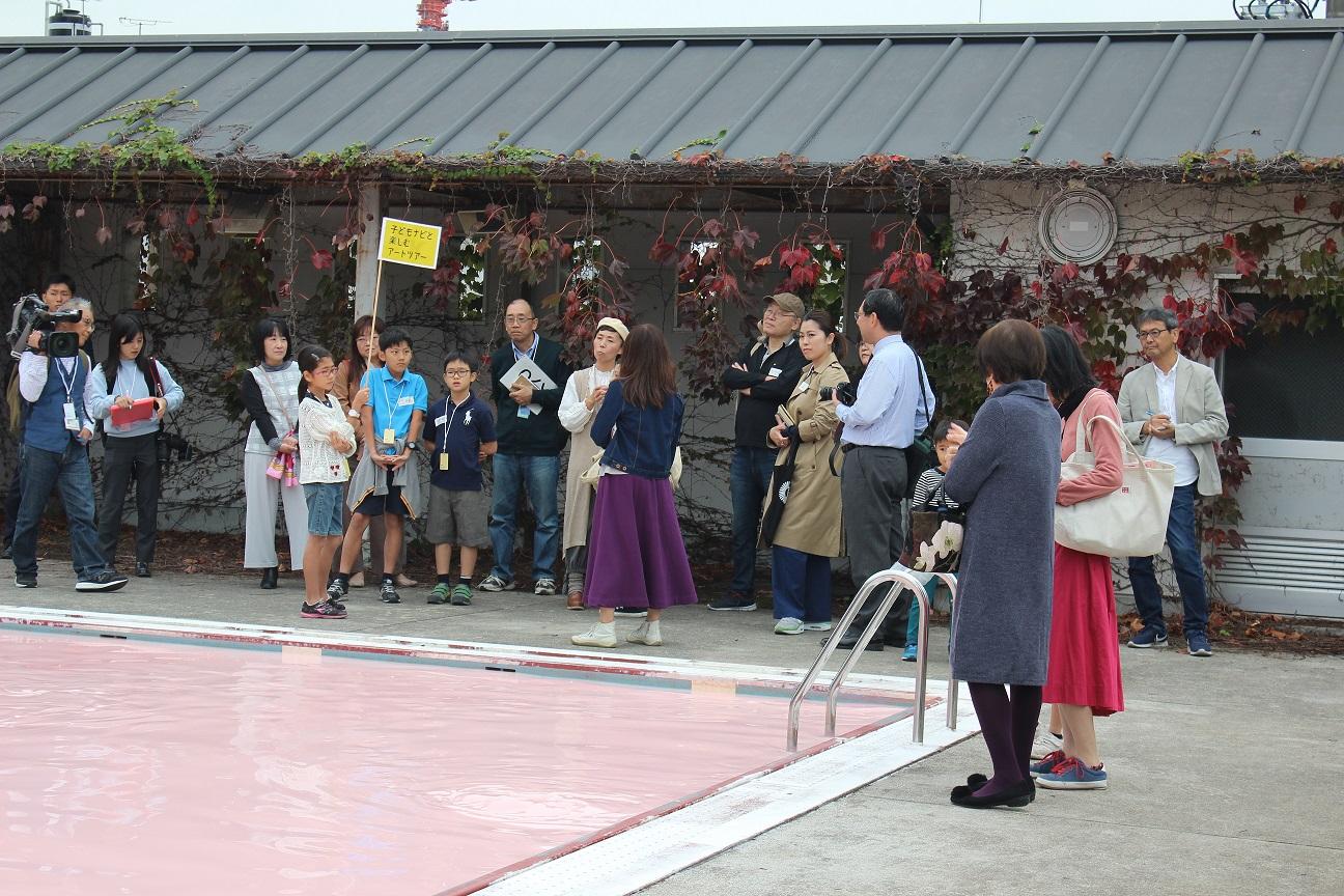 「子どもナビと楽しむアートツアー03」を開催しました